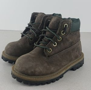 Timberland Suede Brown Boys Boots US 6.5